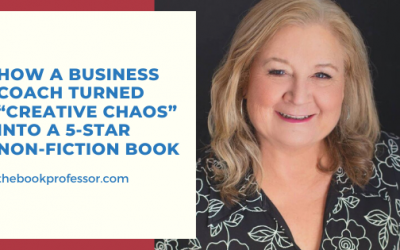 """How a business coach turned """"creative chaos"""" into a 5-star non-fiction book"""